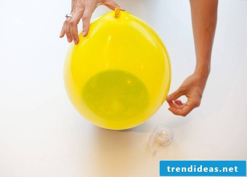 Crafting ideas for children with balloons