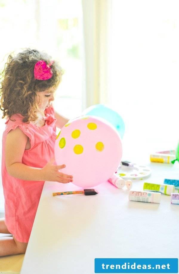 Handicrafts with children - craft ideas and craft instructions