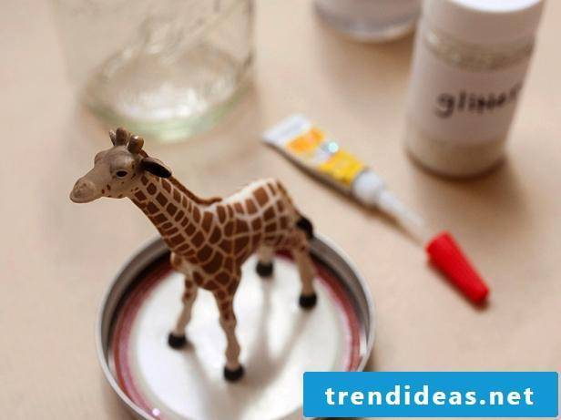 Crafting Ideas for Kids DIY Snow Globes - Instructions