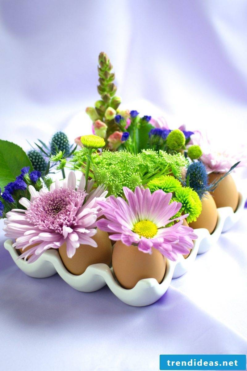 Crafting ideas with children: Make Easter decorations