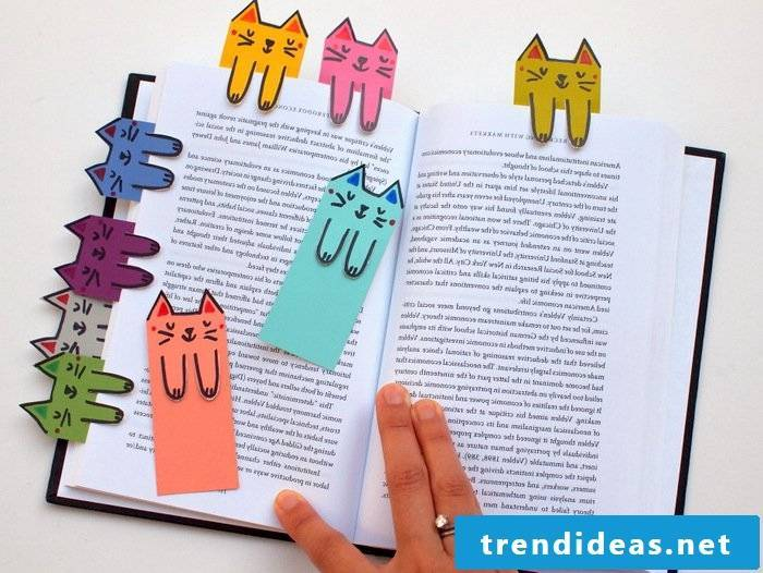 With crafts you motivate your child to read and learn!