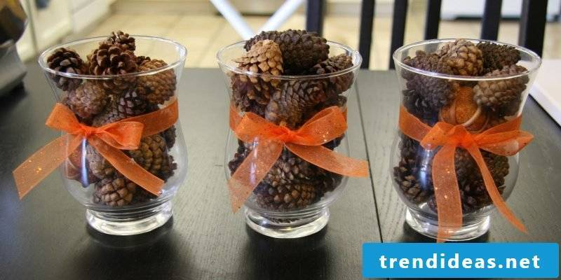 Fall Table Decoration DIY Instructions