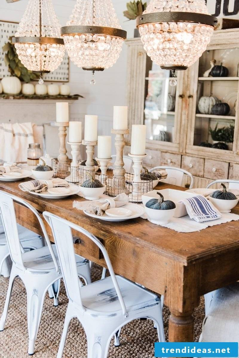 Table top autumn ideas