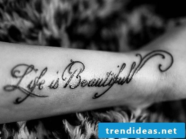 known tattoo writing wisdom ideas tattoo saying