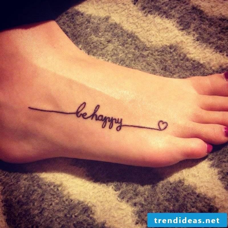 writing tattoo ideas foot cool tattoo ideas
