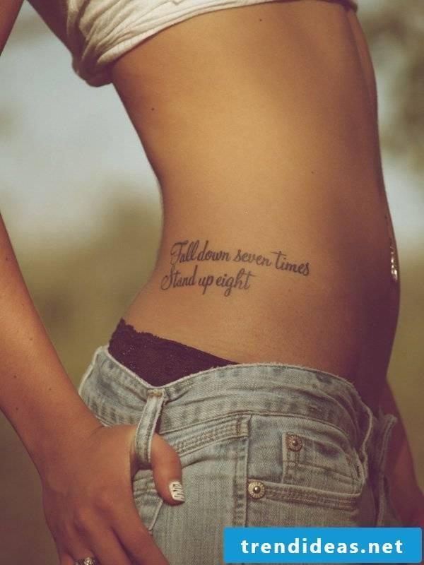 tattoo saying writings tattoos women cool tattoo ideas