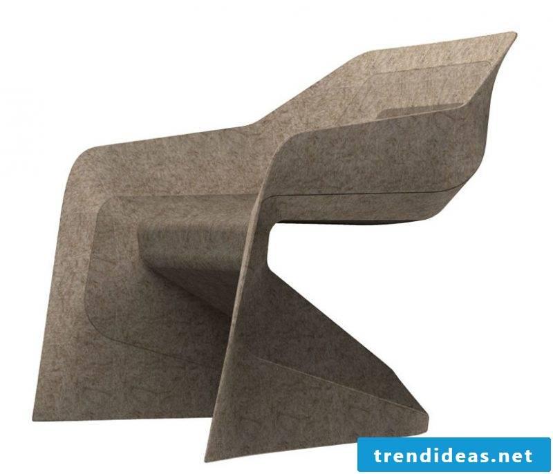Furniture designer Aisslinger chair