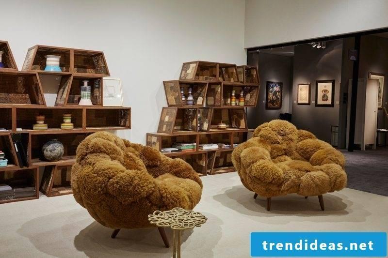 Furniture designer Campana chairs