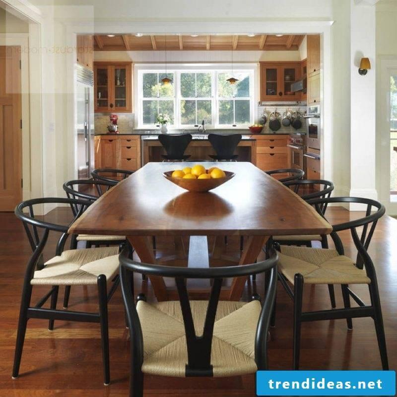 Furniture designer Hans Wegner dining table