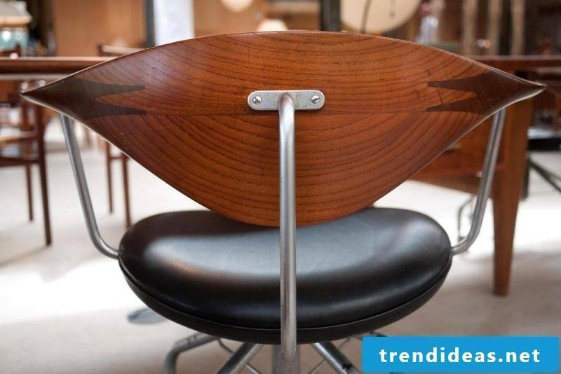 Chair of furniture designer