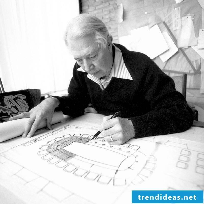 Furniture designer Hans Wagner