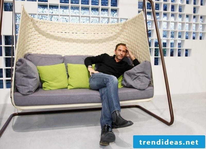 Furniture designer Werner Asslinger