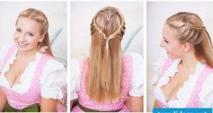 Traditional hairstyles - 14 creative ideas for the dirndl