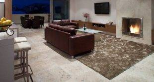 Travertine tiles - 25 ideas for indoor and outdoor use