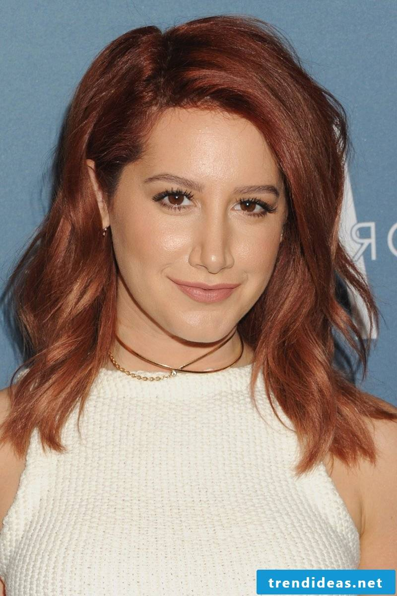 Copper brown hair color hairstyles