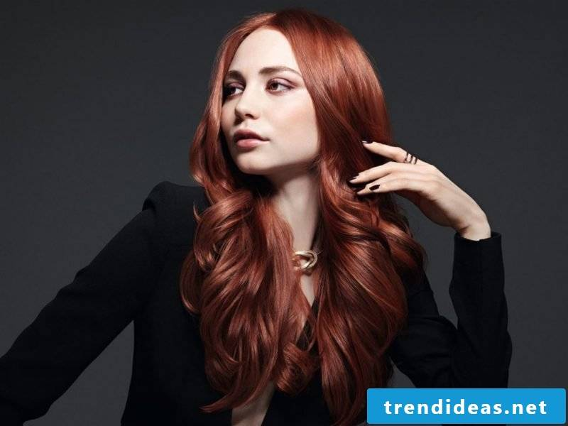 Copper Brown Hair Color Modern
