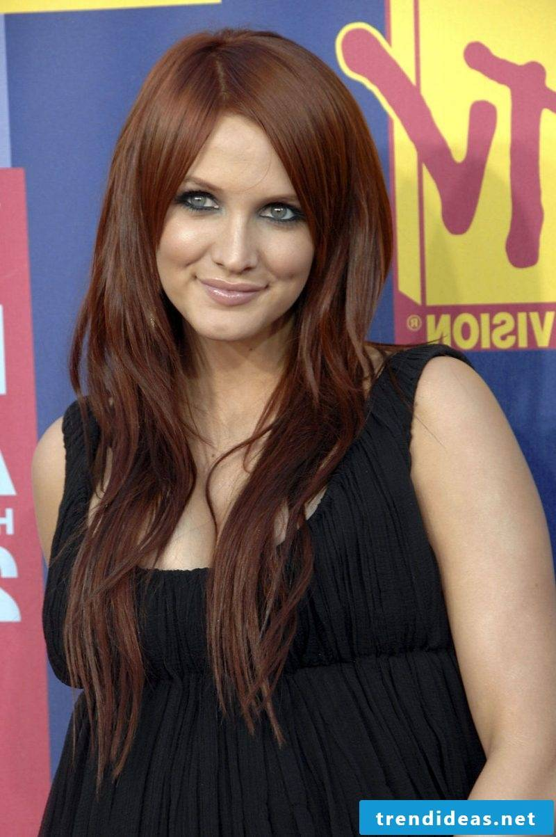 Copper Brown Hair Color Stars
