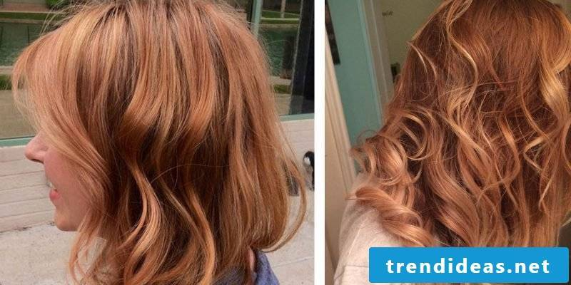 Copper brown hair color Hell