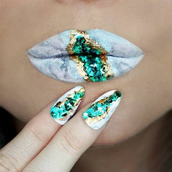 Gorgeous inspirations for Marbel lips