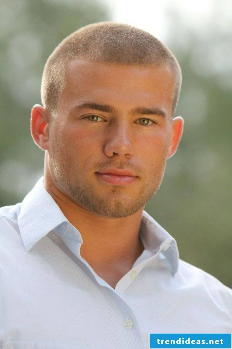 Trend hairstyles 2015 for men Buzz haircut