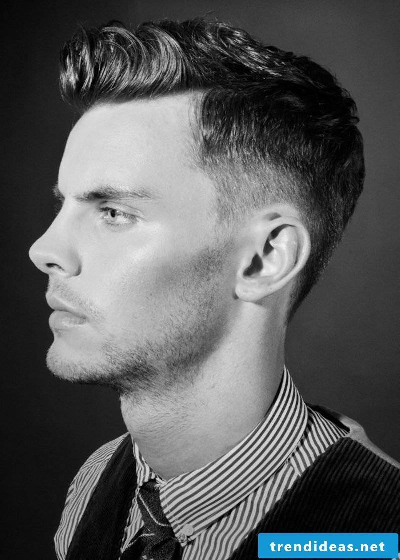 Fade Hairstyle Modern Men Hairstyles Short Hair 2015