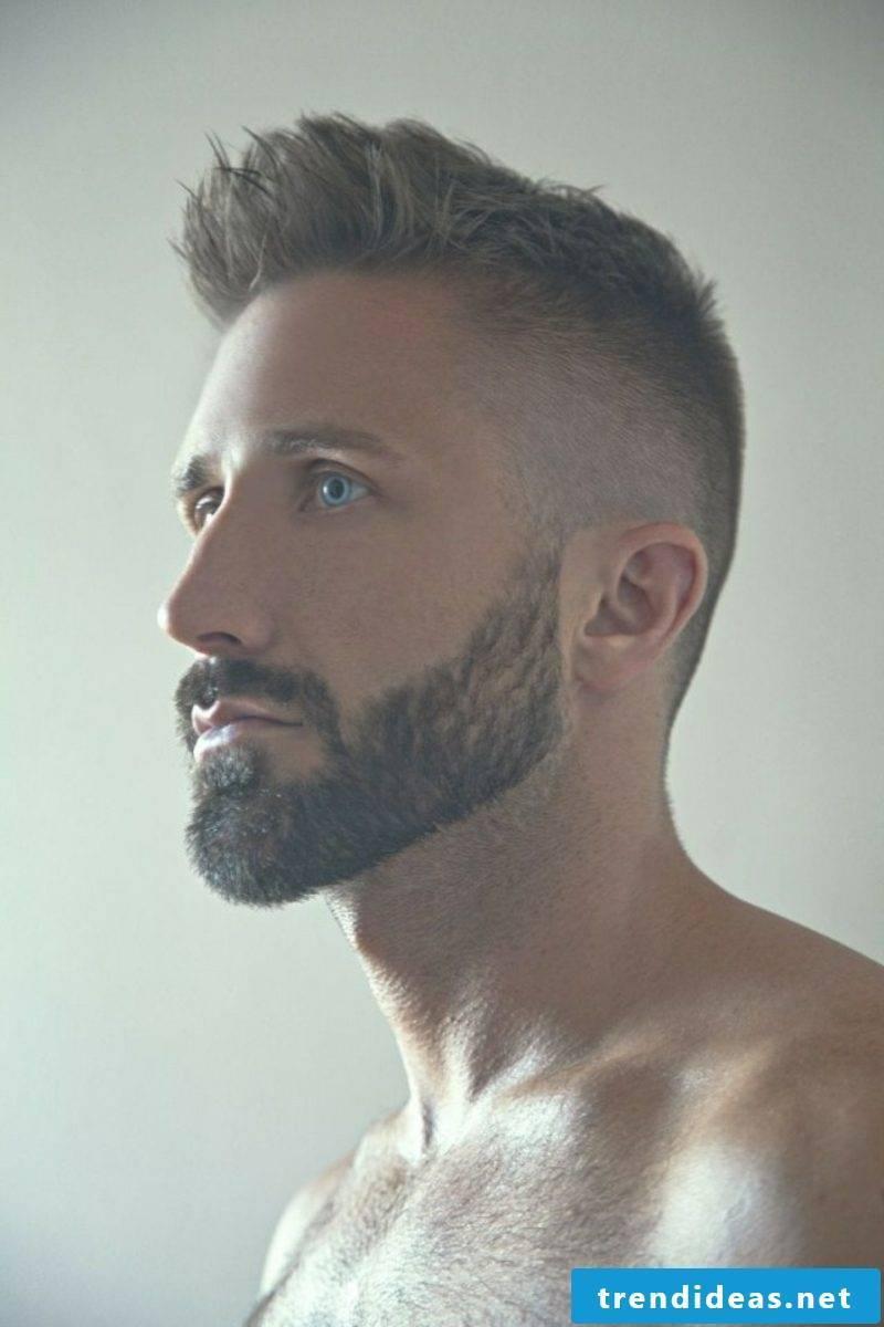 Fade short haircut male hairstyles