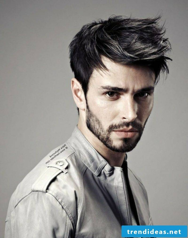 Fade hairstyle modern look