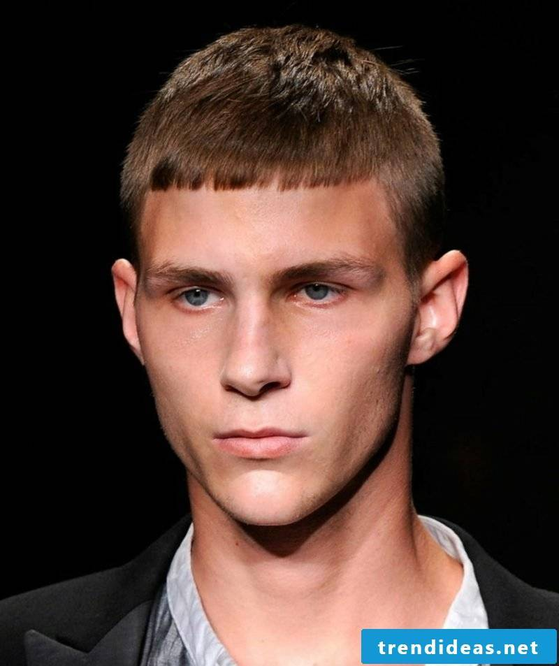 Trend hairstyles 2015 for men Caesar hairstyle