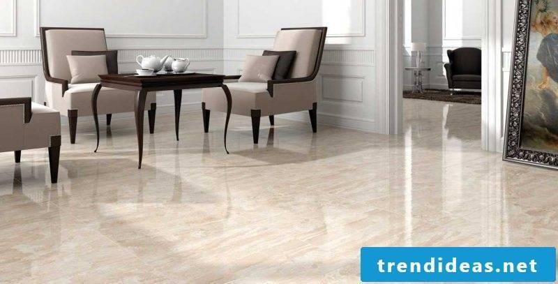 Tile laying pattern marble