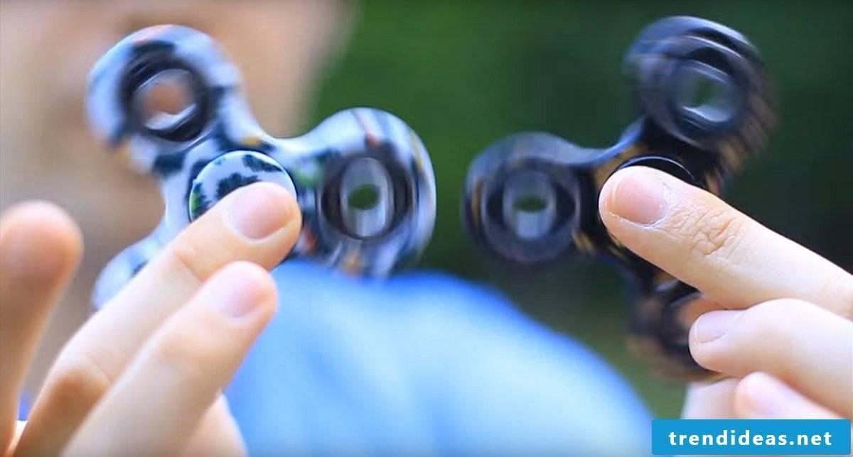 Build Fidget Spinner yourself