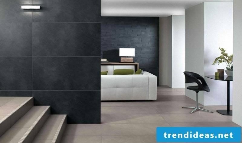 villeroy and boch tiles collection Bernina black