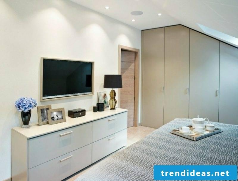 walk-in closet bedroom sloping roof