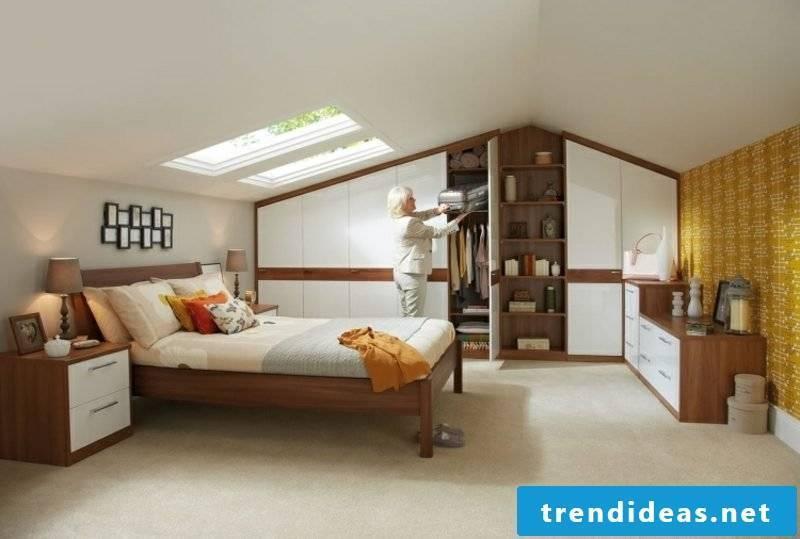 walk-in wardrobe large attic