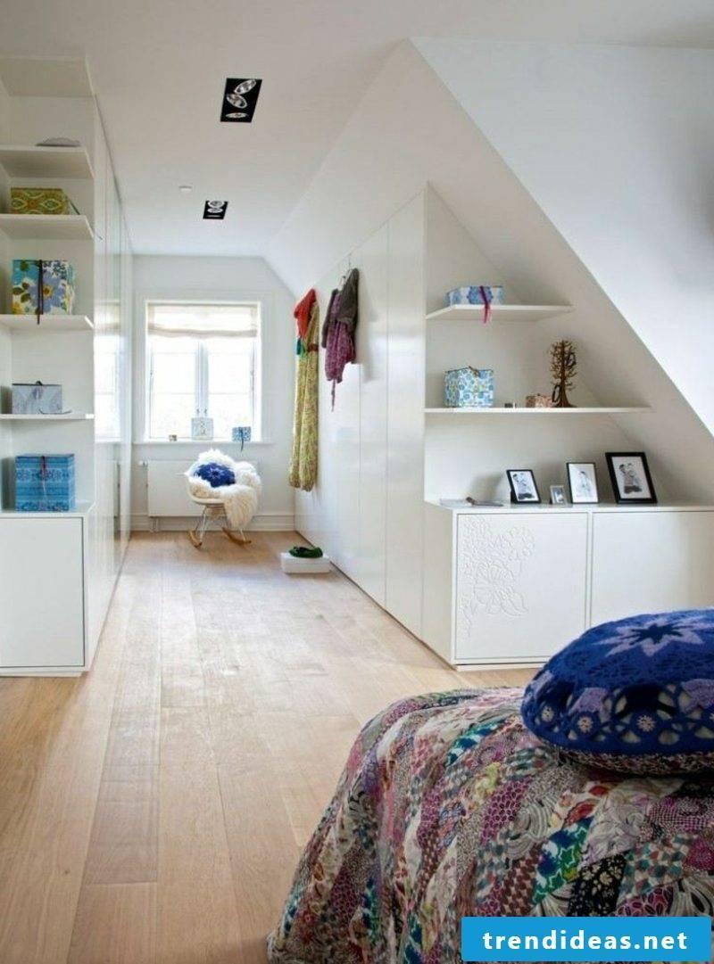 lower wardrobe walk-in roof pitch