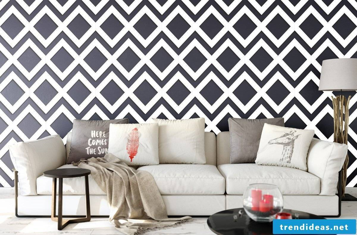 Whether you are a fan of Industrial Style or Modern Style, you will find matching wallpaper.