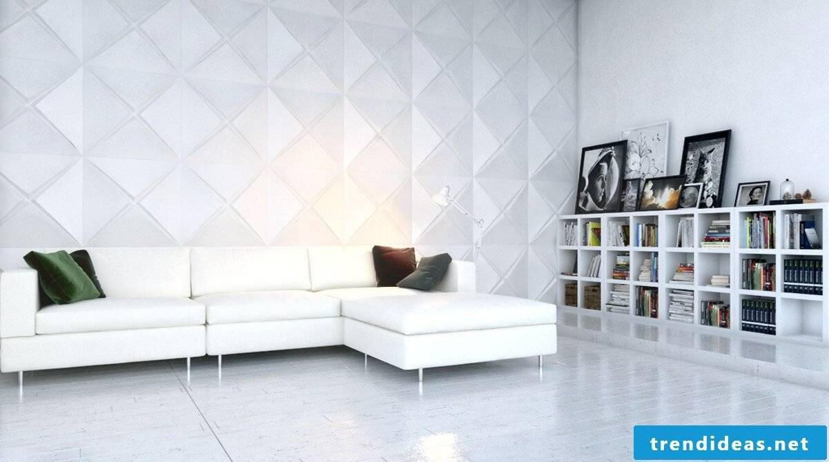 Do you feel like collecting new creative ideas for wall cladding?