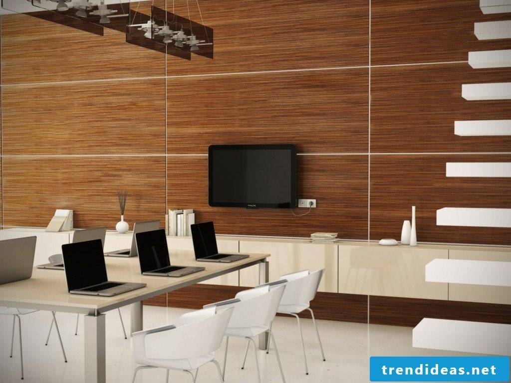 Wood paneling - bring your home to life