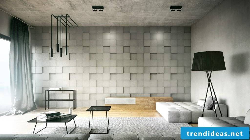 You can find many great ideas for wall cladding here!