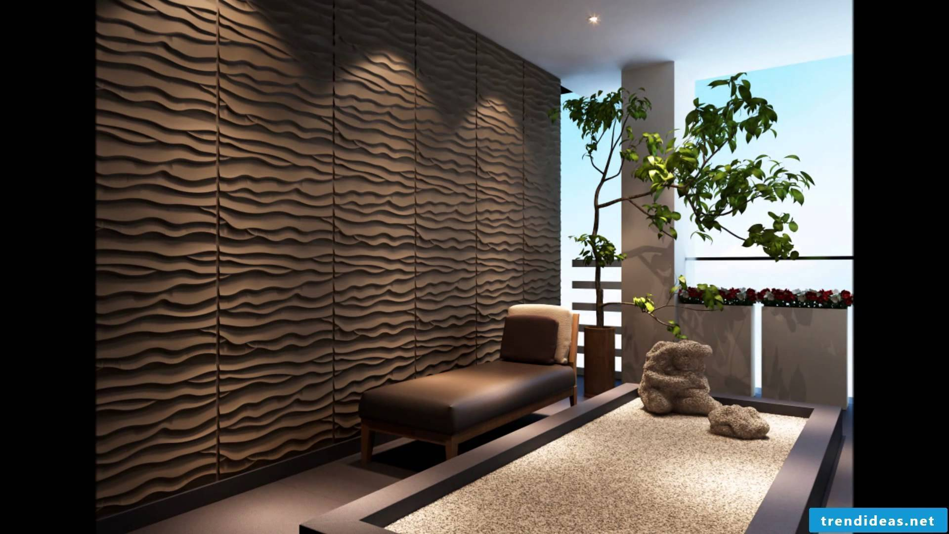 This type of wallcovering is especially good for DIY fans who want to dress their walls themselves, because the installation is easy.