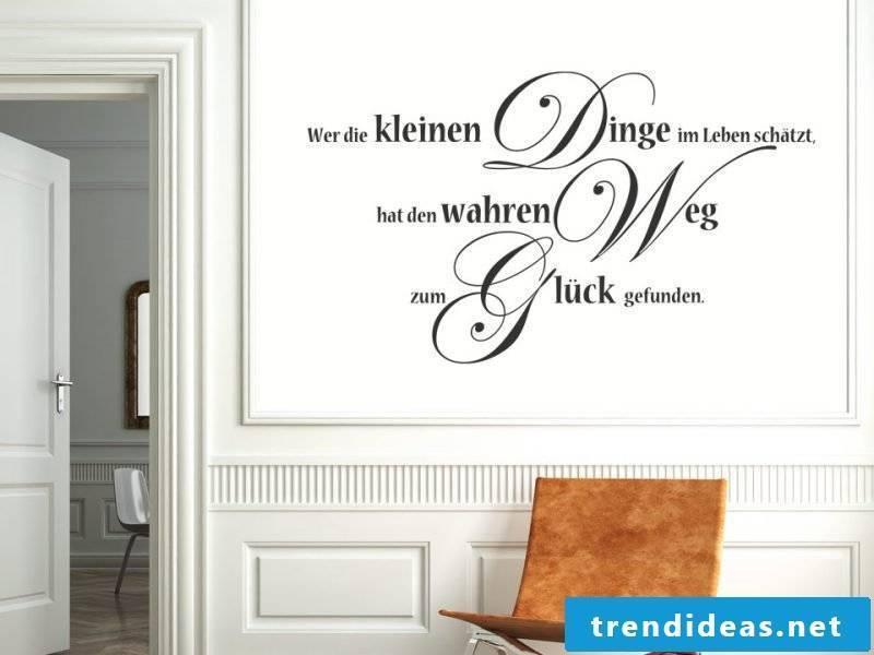 wall tattoo saying wisdom
