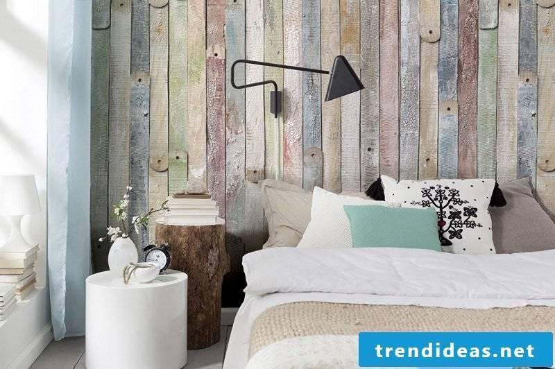 wall design bedroom ideas wall panels vintage look