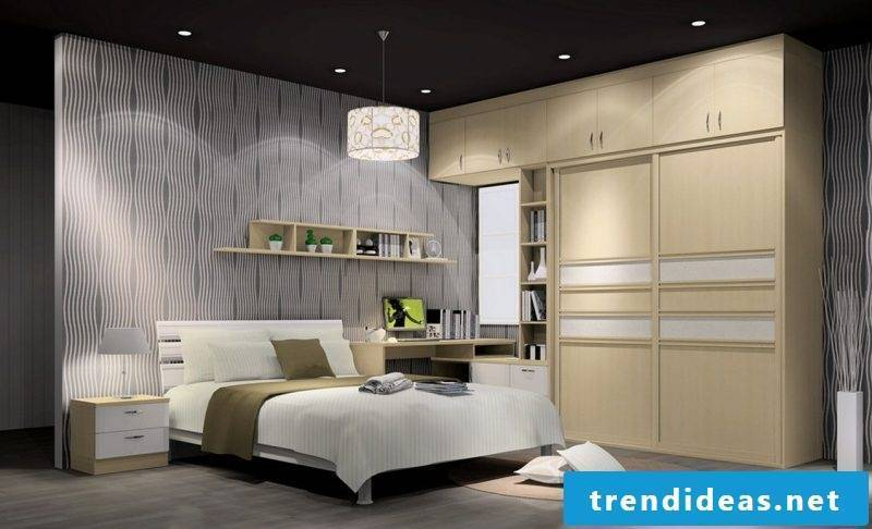 wall design bedroom ideas gray wall paint