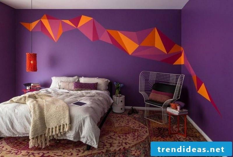 wall design bedroom ideas