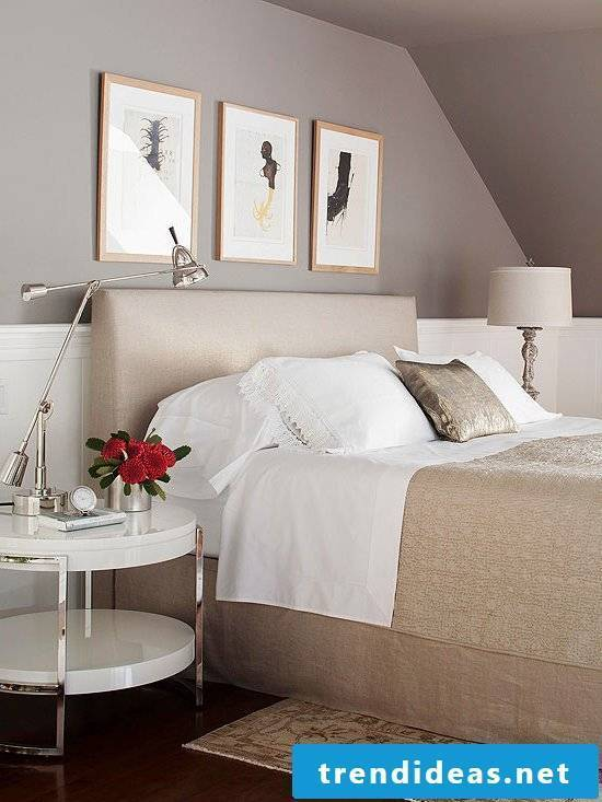 wall design bedroom ideas color taupe