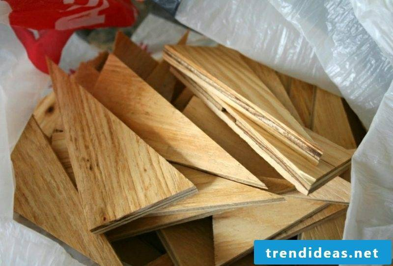 Wall decoration wood ideas with plywood
