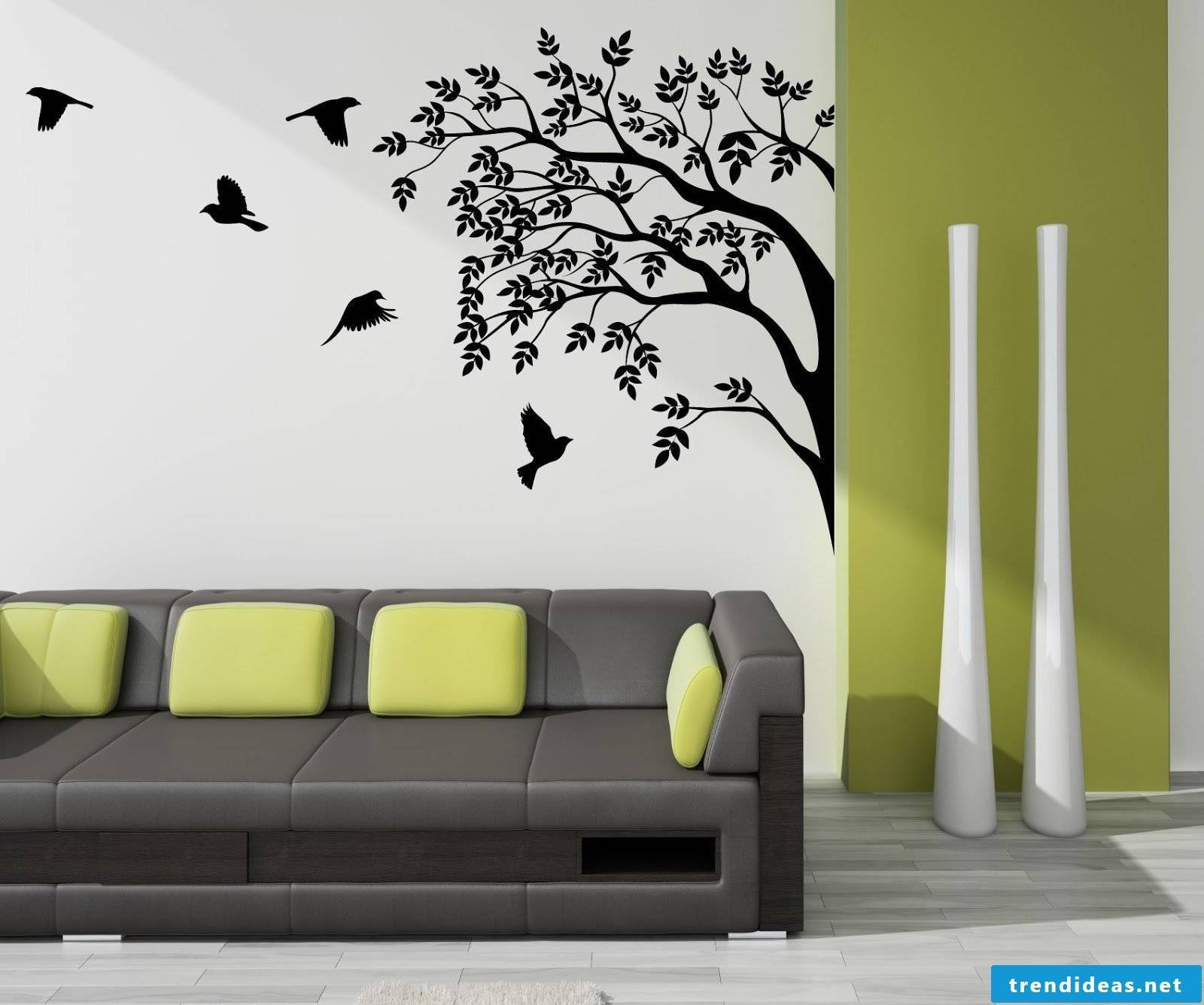 Chic and made fast - wall stickers