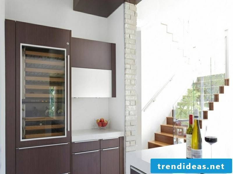 small deco element of wall design with white bricks