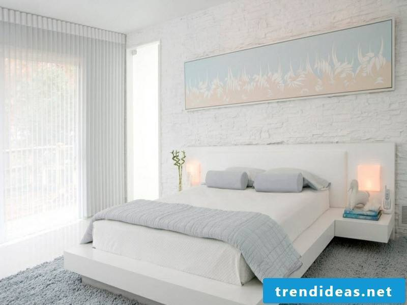wall design with icicles and bright colors