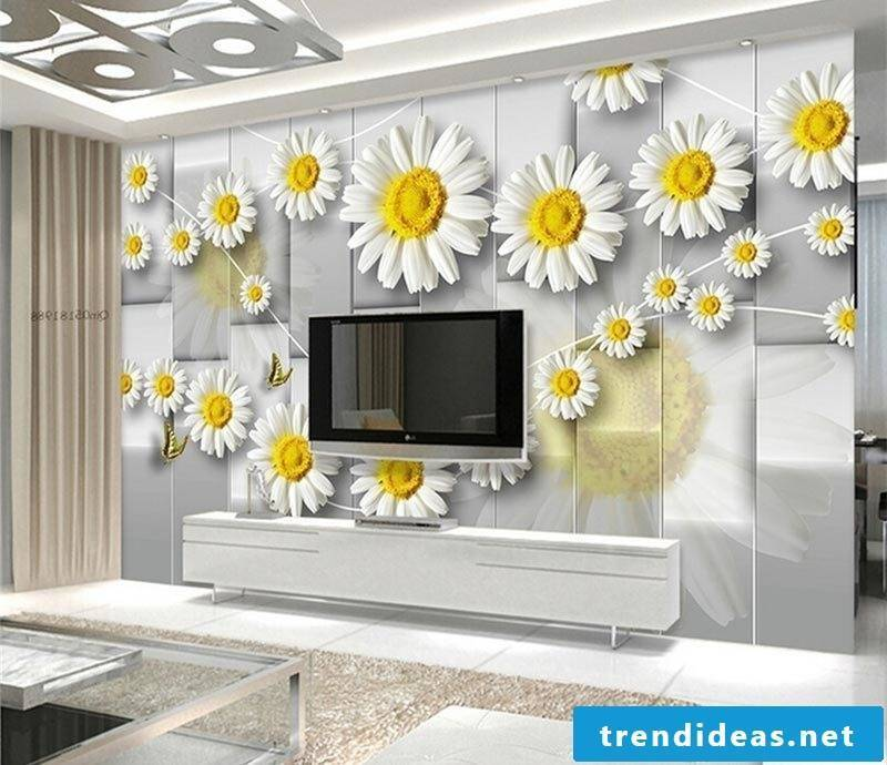 Wall mural cheap also can be found in 3d design