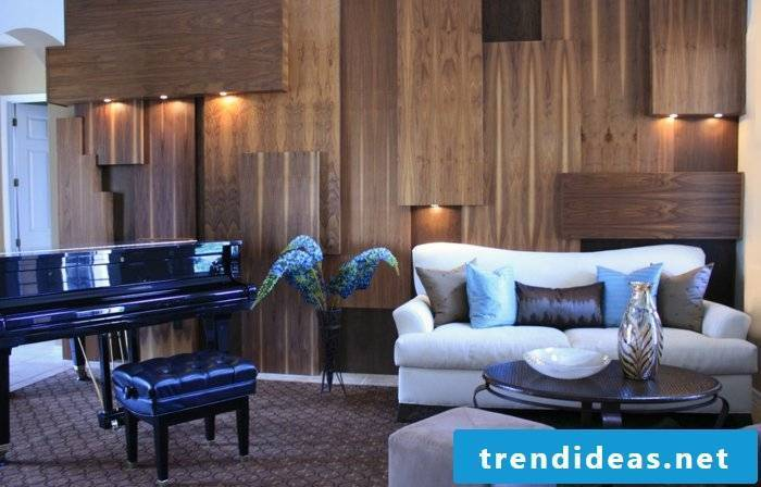 wall panels-in-living room